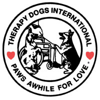 Therapy Dogs International logo links to website